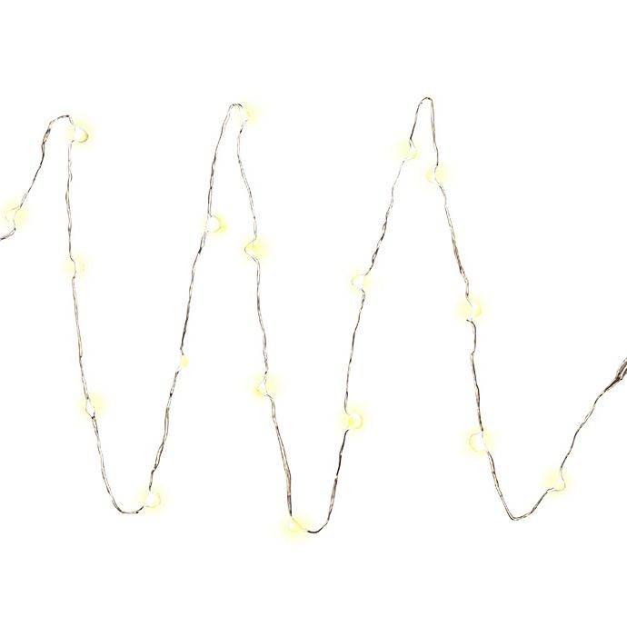 Alternate image 1 for 36-Inch Battery Operated String Lights with 18 LED Lights and Timer