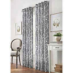 Commonwealth Home Fashions Bradford Grommet Window Curtain Panel