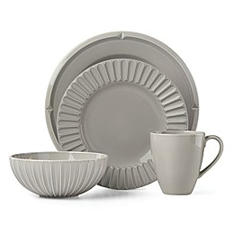 kate spade new york Tribeca Platinum Grey™ Dinnerware Collection