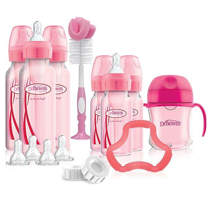 Alternate image 1 for Dr. Brown's®Options+™ Bottle Gift Set in Pink