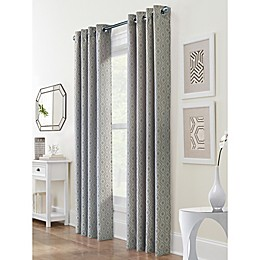 Commonwealth Home Fashions Esquire Grommet Room Darkening Window Curtain Panel