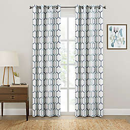 Brookstone® Salano Geo Blackout Window Curtain Panel
