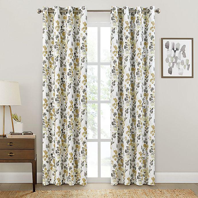 Alternate image 1 for Brookstone® Salano Floral Blackout Curtain Panel