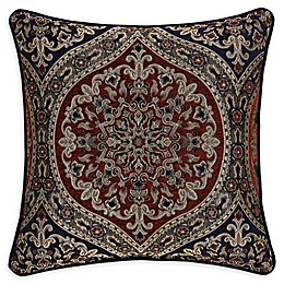 J. Queen New York Taormina 20-Inch Square Throw Pillow in Red