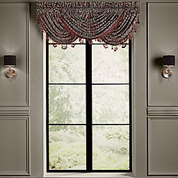 J. Queen New York Taormina Cascade Valance in Red