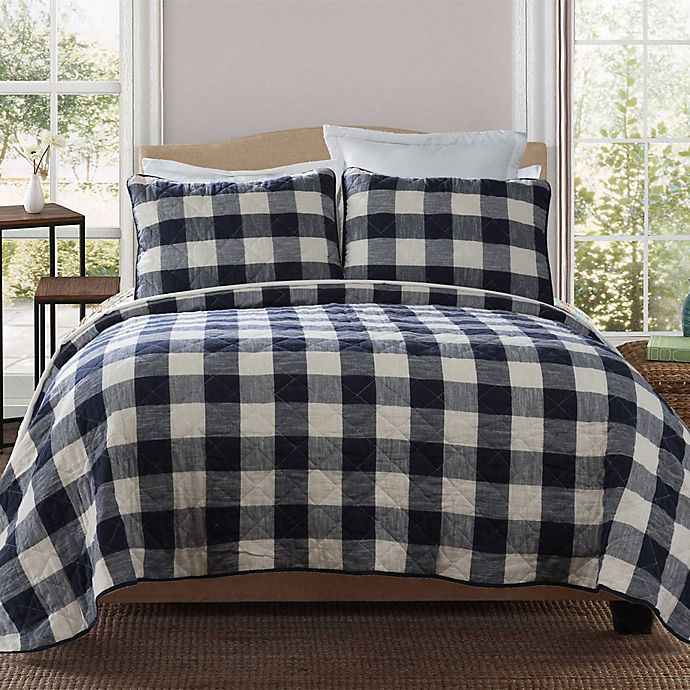 Alternate image 1 for Bee & Willow™ Home Buffalo Check Quilt Set