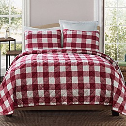 Bee & Willow™ Home Buffalo Check Quilt Set