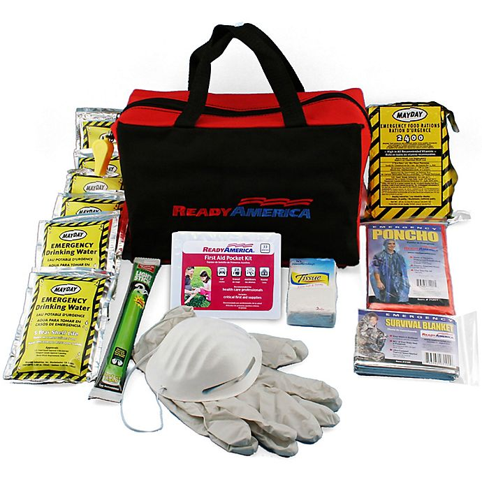 Alternate image 1 for Ready America® 1 Person 3 Day Emergency Tote Kit