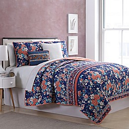 Portland 5-Piece Reversible Quilt Set