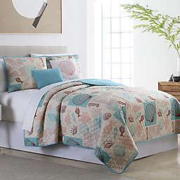 Venice Beach 5-Piece Reversible Quilt Set