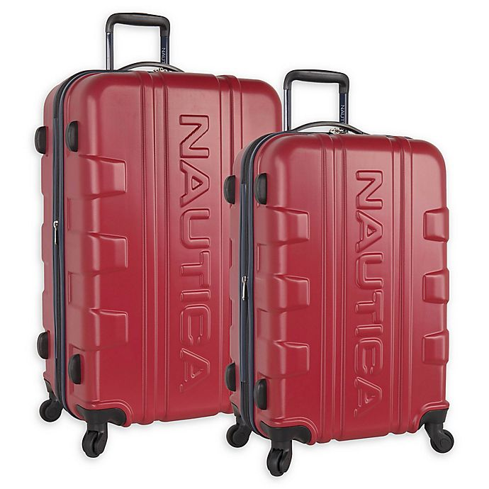 Alternate image 1 for Nautica Clipper Hardside Expandable Spinner Checked Luggage