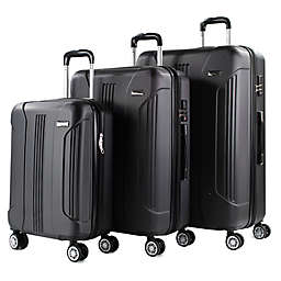 American Green Travel Denali 3-Piece Spinner Luggage Set