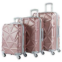 AMKA Gem 3-Piece Hardside Spinner Luggage Set