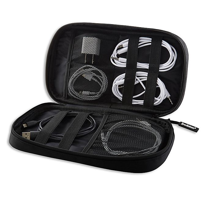 Alternate image 1 for Brookstone® Cord Organizer in Black