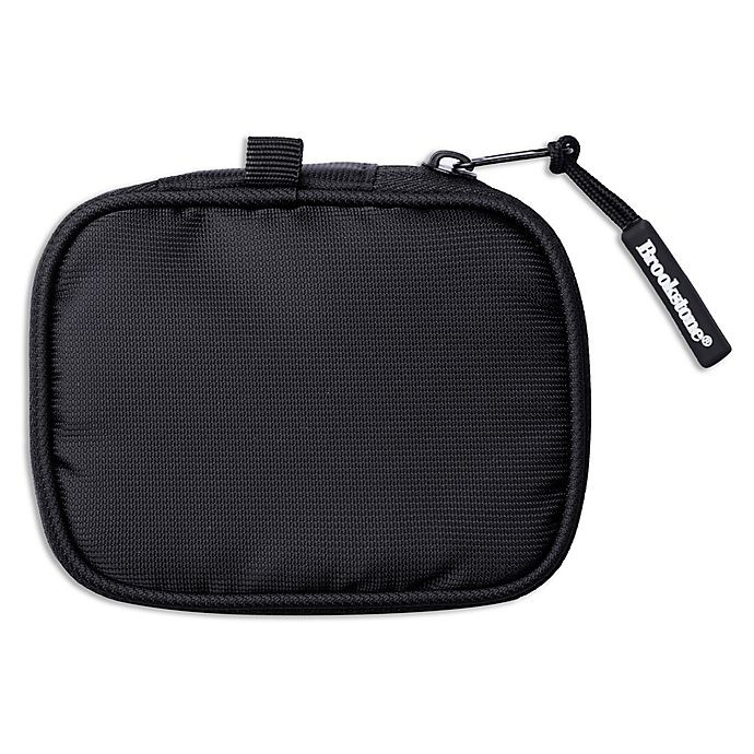 Alternate image 1 for Brookstone® Earbud Pouch in Black