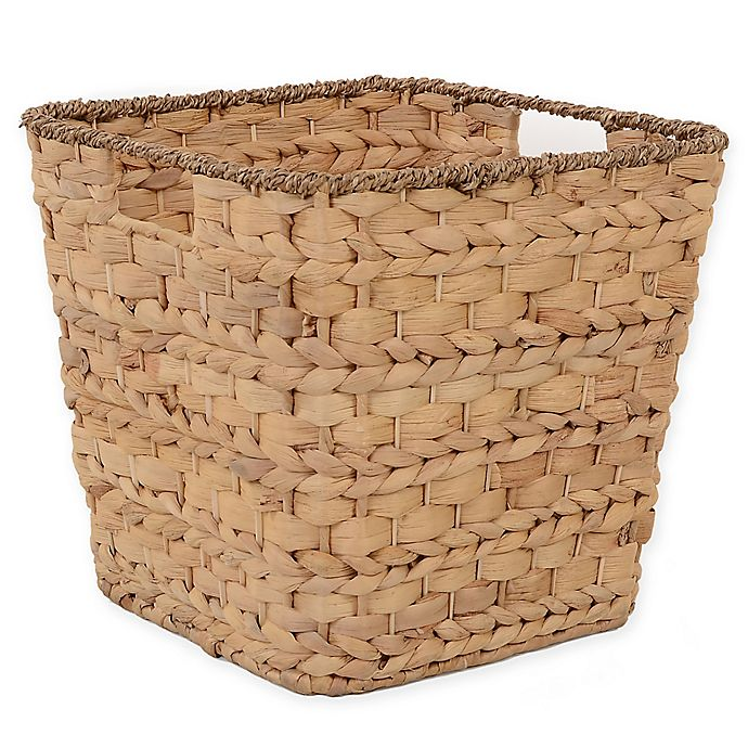 Alternate image 1 for Relaxed Living Tapered Water Hyacinth 11-Inch Storage Basket