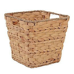 ORG Tapered Water Hyacinth 13-Inch Storage Basket
