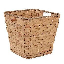 ORG Water Hyacinth Storage Basket in Natural