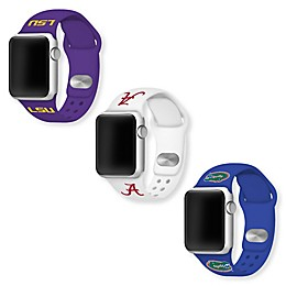 Collegiate Apple Watch® Short Silicone Band Collection