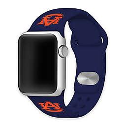 Auburn University Apple Watch® Short Silicone Band in Navy