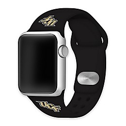 University of Central Florida Apple Watch® Short Silicone Band in Black