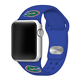 University of Florida Apple Watch® Short Silicone Band in Blue