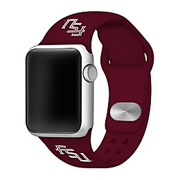 Florida State University Apple Watch® Short Silicone Band in Maroon