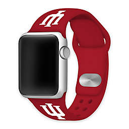 Indiana University Apple Watch® Short Silicone Band in Red