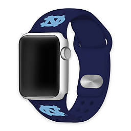 University of North Carolina Apple Watch® Short Silicone Band in Navy