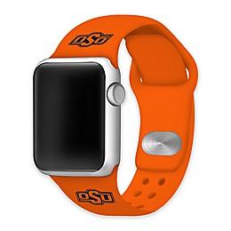 Oklahoma State University Apple Watch® Short Silicone Band in Orange