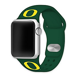 University of Oregon Apple Watch® Short Silicone Band in Green