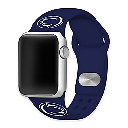 Penn State University Apple Watch® Short Silicone Band in Navy
