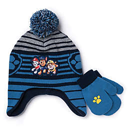 Paw Patrol™ Toddler 2-Piece Hat and Mitten Set in Blue