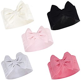 Hudson Baby® 5-Pack Big Bow Headbands
