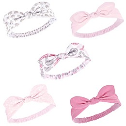 Hudson Baby® 5-Pack Lace Medallion Knotted Headbands