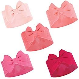 Hudson Baby® 5-Pack Big Bow Headbands