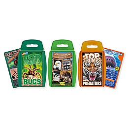 Wildlife Top Trumps 3-Piece Card Game Bundle