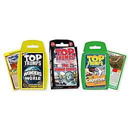 Explore Our Life Top Trumps 3-Piece Card Game Bundle