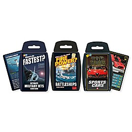 Mean Machine Top Trumps 3-Piece Card Game Bundle