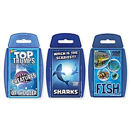 Sea Life Top Trumps 3-Piece Card Game Bundle
