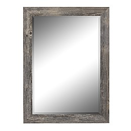 Hitchcock-Butterfield Coastal 41.75-Inch x 53.75-Inch Wall Mirror in Driftwood Grey