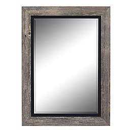Hitchcock-Butterfield Coastal III Wall Mirror in Grey/Black