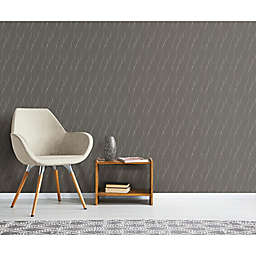 RoomMates® Wave Ogee Peel & Stick Wallpaper in Grey