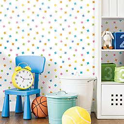 Roommates® X Marks the Spot Peel & Stick Wallpaper