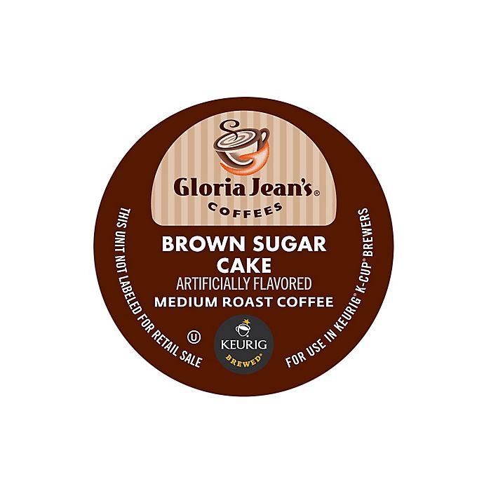 Alternate image 1 for Keurig® K-Cup® Pack 18-Count Gloria Jean's® Brown Sugar Cake Coffee