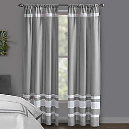Wamsutta® Hotel 108-Inch Rod Pocket/BackTab 100% Blackout Window Curtain Panel in Grey