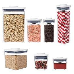 OXO Good Grips® POP Square Big 4.4 qt. Food Storage Container in White