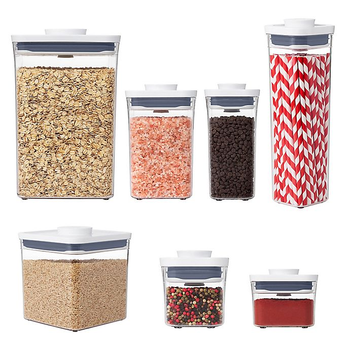Alternate image 1 for OXO Good Grips® POP Square Food Storage Container