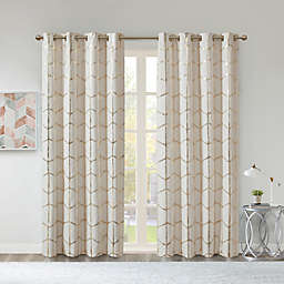 Intelligent Design Raina 100% Blackout Grommet Window Curtain Panel