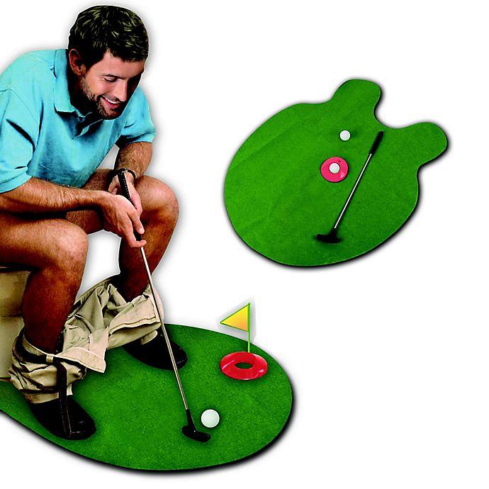 Alternate image 1 for Potty Putter Toilet Golf Game